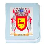 McCart baby blanket