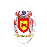 McCart Oval Car Magnet