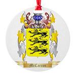 McCarron Round Ornament