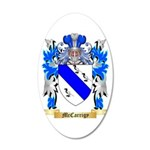 McCarrigy 20x12 Oval Wall Decal