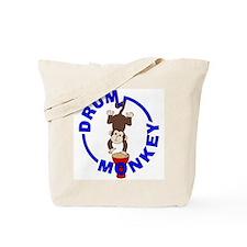 Drum Monkey Tote Bag