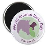 World Animal Reiki Day Logo Magnets (10 Pack)