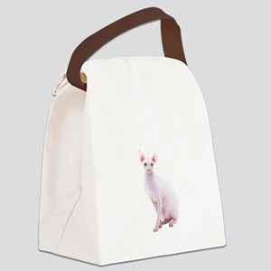 Pink Beauty Canvas Lunch Bag