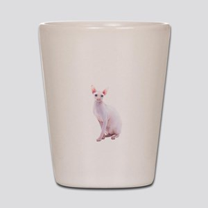 Pink Beauty Shot Glass