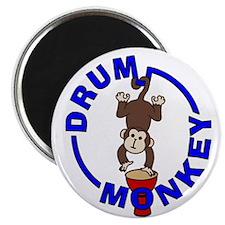 Drum Monkey Magnet