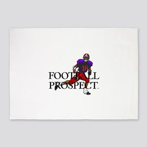Football Prospect 5'x7'Area Rug