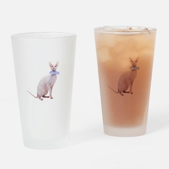 True gentlemen Drinking Glass
