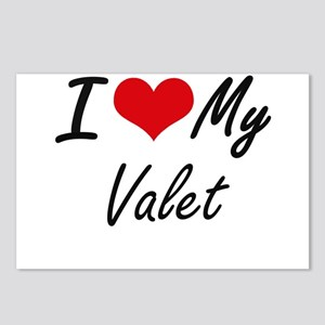 I love my Valet Postcards (Package of 8)