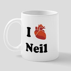 I (Heart) Neil Mug