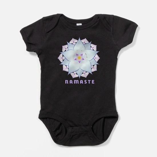 Cute Yoga om Baby Bodysuit