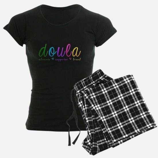 Rainbow Doula Dark Pajamas