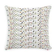23 Amazon River Fish pattern Everyday Pillow