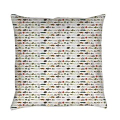23 Amazon River Fish pattern Everyday Pillow