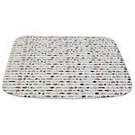 23 Amazon River Fish pattern Bathmat