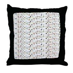 23 Amazon River Fish pattern Throw Pillow