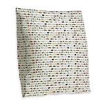 23 Amazon River Fish pattern Burlap Throw Pillow