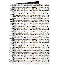 23 Amazon River Fish pattern Journal