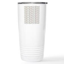 23 Amazon River Fish pattern Travel Mug