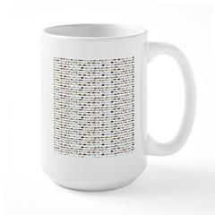 23 Amazon River Fish pattern Mugs