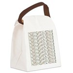 23 Amazon River Fish pattern Canvas Lunch Bag