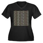 23 Amazon River Fish pattern Plus Size T-Shirt