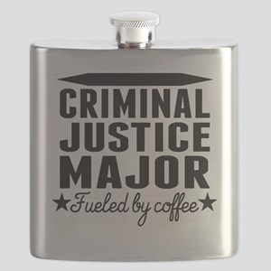 Criminal Justice Major Fueled By Coffee Flask