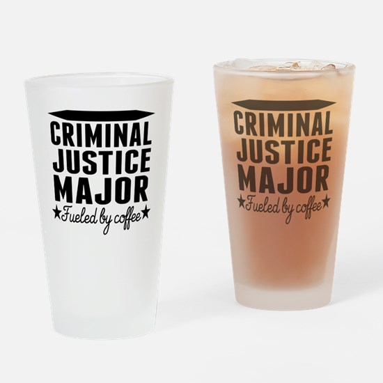 Criminal Justice Major Fueled By Coffee Drinking G