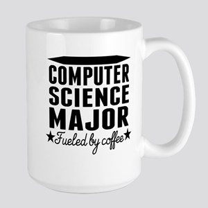 Computer Science Major Fueled By Coffee Mugs