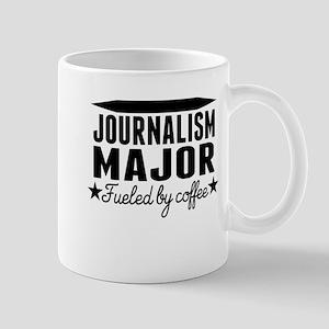 Journalism Major Fueled By Coffee Mugs