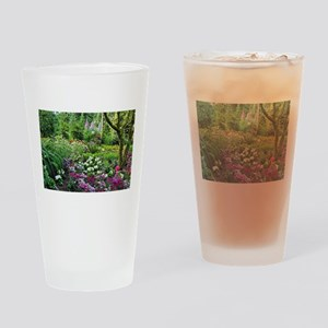 Spring woodland garden Drinking Glass