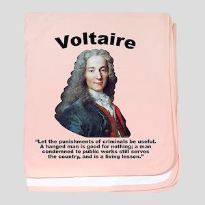Voltaire Criminals baby blanket