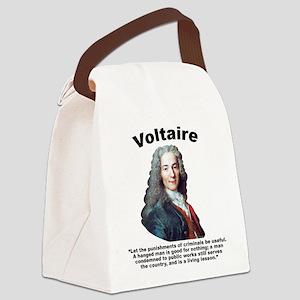 Voltaire Criminals Canvas Lunch Bag