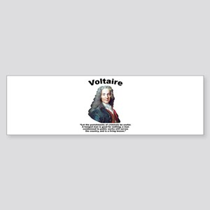 Voltaire Criminals Sticker (Bumper)