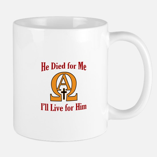 Live For Jesus Mugs