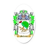 McCarra Oval Car Magnet