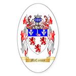 McCarney Sticker (Oval 10 pk)