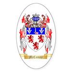 McCarney Sticker (Oval 50 pk)