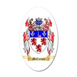 McCarney 20x12 Oval Wall Decal