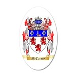 McCarney 35x21 Oval Wall Decal