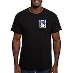McCarlais Men's Fitted T-Shirt (dark)