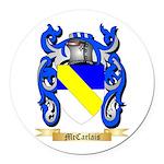 McCarlais Round Car Magnet