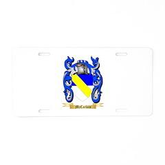 McCarlais Aluminum License Plate