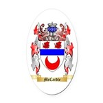 McCardle Oval Car Magnet