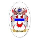 McCardle Sticker (Oval)