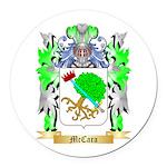 McCara Round Car Magnet