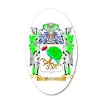 McCara 20x12 Oval Wall Decal