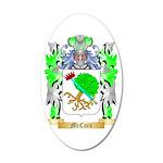 McCara 35x21 Oval Wall Decal