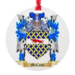 McCann Round Ornament