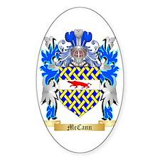 McCann Sticker (Oval)