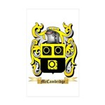 McCambridge Sticker (Rectangle 50 pk)
